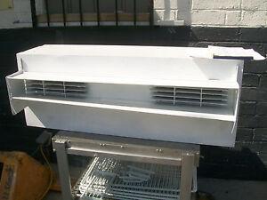 AIR CURTAIN , 220 V ,MICRO SWITCH, 1/2  H POWER,  HIGH CFM, , 900 ITEMS ON E BAY