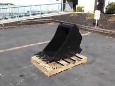 New 18 Wain Roy Style Backhoe Bucket To Fit 14 Yd Coupler With 175 Pins