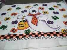 Halloween Ghosts  Boo Bag Crochet Top Kitchen Towel