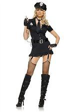 Leg Avenue Costume Dirty Cop 83344 Black Medium/Large