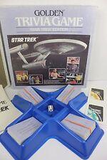 Vintage 1985 Golden Trivia Game Star Trek Edition Original Series ST:TOS 100%