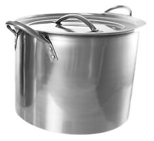 Stainless Steel Deep StockPot / Boiling/ Cooking/ Camping/ Soup/ Stew /Brew 4.5L