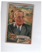 1956 U.S. Presidents Collector Series Harry S. Truman Card # 35
