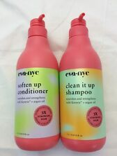 Eva NYC Clean It Up Shampoo / Soften Up Conditioner Combo 33.8 Ounce