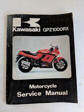 1985 KAWASAKI NINJA GPZ1000RX MOTORCYCLE SERVICE MANUAL