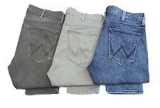 Mens Wrangler Larston stretch skinny tapered jeans SECONDS WA80