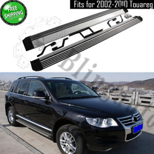 Running board fits for 2002-2010 Volkswagen Touareg side step nerf bars pedals