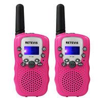 10pcs Kid Toy WalkieTalkie RT-388 UHF 446Mhz 0.5W 8CH VOX LCD CTCSS 2Way Radio