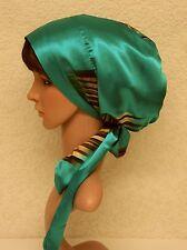 Tichel, full head covering, satin bonnet for long hair, head snood, head scarf