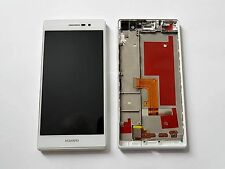 Original Huawei Ascend P7 L10 Pantalla LCD Digitalizador & Marco Blanco-Grado A