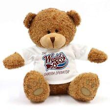 The Worlds Best Camera Operator Teddy Bear