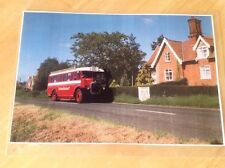 Buckland Omnibus Picture (19.5X29cm) Route 641 to Diss