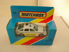 1983 MATCHBOX LESNEY SUPERFAST MB 8 ROVER 3500 POLICE CAR NEW IN BLUE BOX