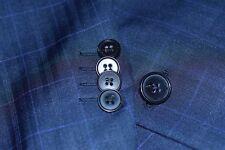 Ermenegildo Zegna Blue Blazer Plaid Check Mens Jacket Sport Coat Size 42-Regukar