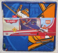 DISNEY PLANES BED SHEETS PILLOW CASE FLANNEL TWIN FLAT FITTED DUSTY 100% COTTON!