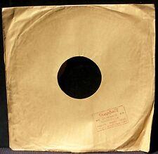 Pochette 78 trs / 78 RPM avec tampon phonos Raphaël, 44 Canebière, Marseille TBE