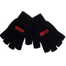 Kreator Logo Fingerless Gloves Official Thrash Metal Band Merch