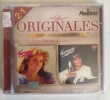 VERONICA CASTRO rare CD Con Tema De LOS RICOS NO LLORAN - Aprendi A Llorar Y Mas