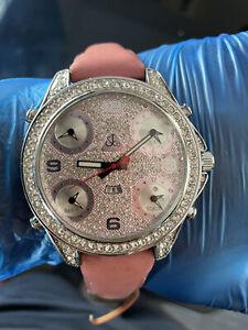 Jacob & Co Five Time Zone 40mm Diamond Bezel