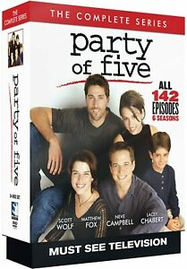 PARTY OF FIVE COMPLETE SERIES DVD BOXSET NEW & SEALED