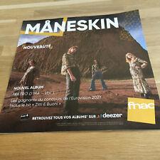 MANESKIN - TEATRO D'IRA !!! PLV / DISPLAY 30 X 30 CM!!!!!!!!!!!