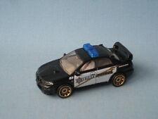 MATCHBOX SUBARU IMPREZA WRX auto della polizia stato PATROL NERO toy model car