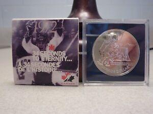 TEAM CANADA 1972 - Commemorative Coin with Box - 1997 CANADA PROOF SILVER DOLLAR
