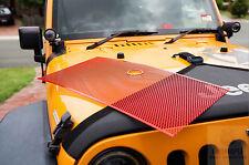 Wrangler JK BLACK Mesh Grille Guard Inserts 2007-2015 Jeep wrangler,carbonsteel