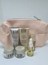Emma Hardie Pink Clay Detox Mask, Cleansing Gel, Face Oil, Balm Set With Bag New