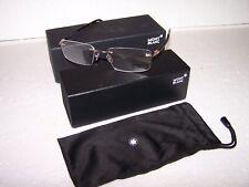 Men's Montblanc MB 731 032  Rimless Glasses Eyeglasses Gold & Tortoise 56-17-145