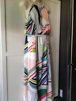CHICO'S  Multi Geo Print Maxi Dress -NWT Sizes .5,  2 & 3- Super  Sale!