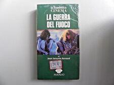 """VHS VIDEOCASSETTA """" LA GUERRA DEL FUOCO """" DI JEAN JAQUES ANNAUD 1981"""