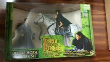 Lord Of The Rings Arwen & Asfaloth Deluxe Horse Rider Set Fellowship Toy Biz New