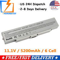 6 Cell Battery for Sony Vaio PCG-5J2L PCG-5K1L VGP-BPS9A VGP-BPS9/B VGP-BPS9/S