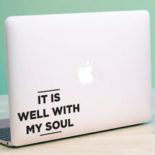 """MY SOUL Apple MacBook Decal Sticker fits 11"""" 12"""" 13"""" 15"""" and 17"""" models"""