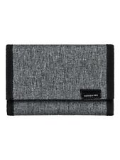 QUIKSILVER MENS WALLET.EVERYDAILY GREY TRIFOLD MONEY NOTE COIN PURSE 9S 530 SGRH