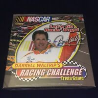 NASCAR  Darrel Waltrip's Racing Challenge Trivia board game NEW SEALED