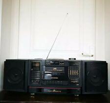 Vintage Boombox Ghettoblaster JVC PC-X200 CD Portable System Detachable Speaker