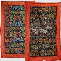 Tapisserie Décoration murale tapis de Mur en coton rajasthan inde 150 x 90