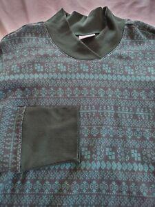 New Columbia Holly Peak Jacquard Long Sleeve Shirt Green 1x Womens