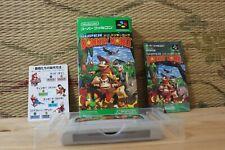 Super Donkey Kong 1 Complete Set! Nintendo Super Famicom SFC VG!