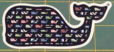 VINEYARD VINE WHALE NAUTICAL FLAG MINI WHALE STICKER DECAL SOUTHERN PROPER