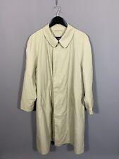 BUGATTI Trench Coat - 40R - Beige - Great Condition - Men's