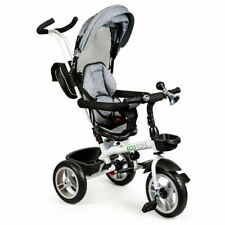 TOP Kinderfahrrad ECOTOYS Dreirad Fahrrad Kinderdreirad NEU Kinderwagen GRAU