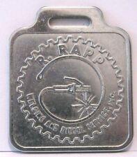* R. Rapp Welding & Diesel Service, Inc. Pocket Watch Fob Silver Color