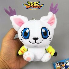 "4"" Digital Monster Digimon Adventure Mascot Vol.2 Keychain Tailmon Mini Plush"