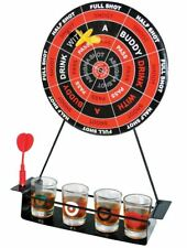 MAGNECTIC DART BOARD DRINKING  PARTY GAME SET WITH SHOT GLASSES