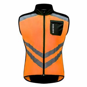 Cycling Vest Windproof Coat MTB Bike Sleeveless Jersey Sportswear Breathable Top