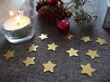 Streudeko Weihnachten Sterne gold Tischdeko Weihnachtsdeko basteln