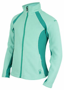 Spyder Youth Girls (7-16) Cora Color Block Full Zip Jacket, Color Options